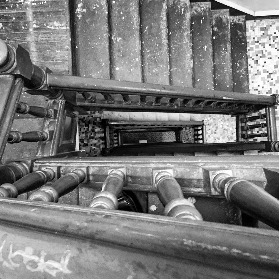 Stairs Photograph - Bed-stuy by Joseph Mari