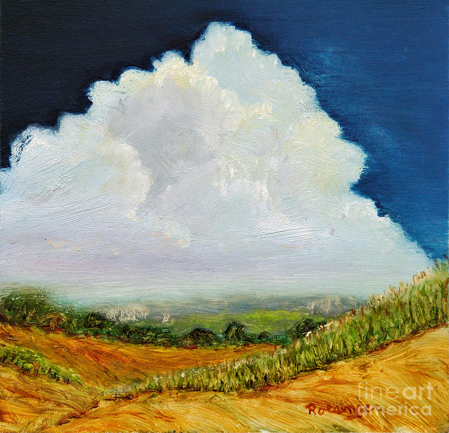 Clouds Painting - Bedford County by Paint Box Studio
