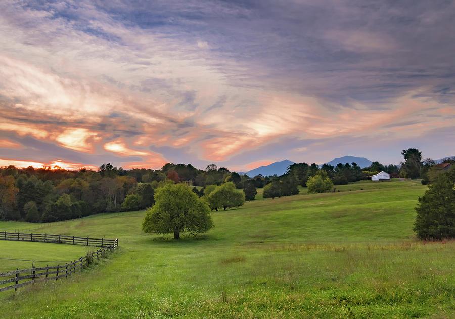 Bedford County Virginia Mountain Landscape Photograph