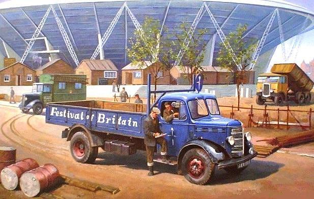 Truck Painting Uk