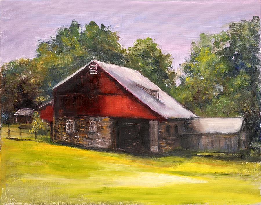 Bedminster Farm Bucks County PA by Aurelia Nieves-Callwood