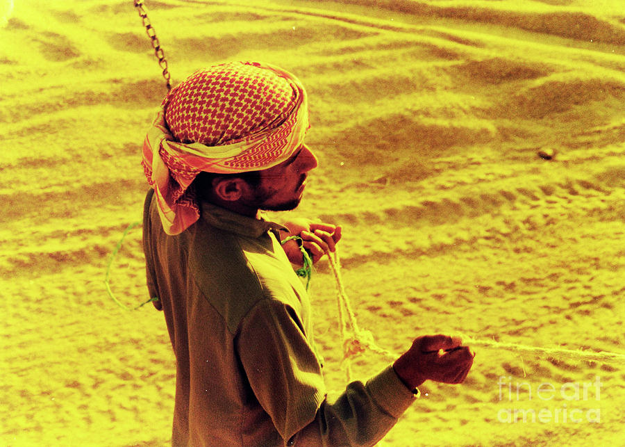 Egypt Photograph - Bedouin Guide by Elizabeth Hoskinson
