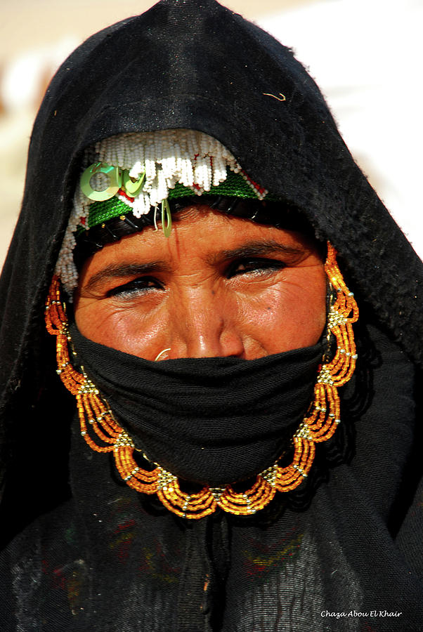 Women Photograph - Bedouin Women by Chaza Abou El Khair