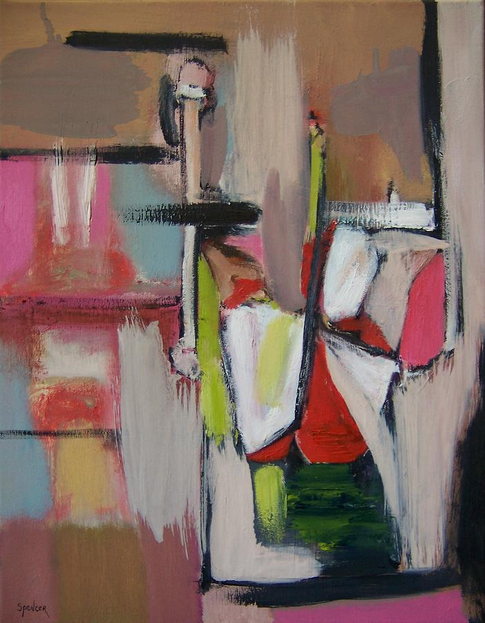 Bedposts Painting by Scott Spencer