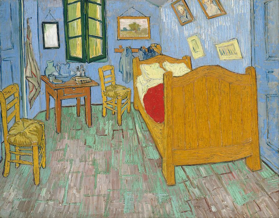 Bedroom At Arles Painting - Bedroom At Arles by Van Gogh