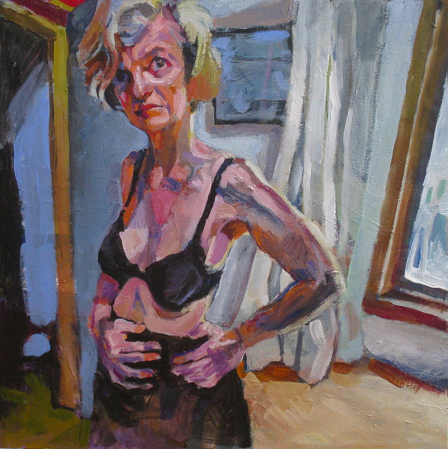 People Painting - Bedroom Scene by Piotr Antonow