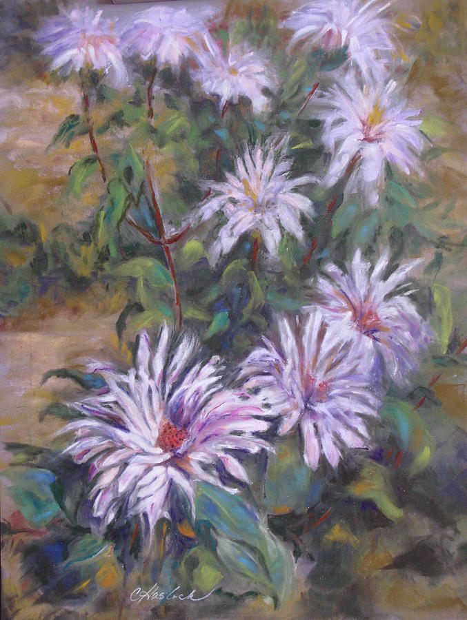 Floral Pastel - Bee Balm by Carole Haslock