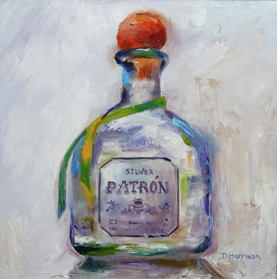 Patron Painting - Bee Patron by Denise H Cooperman