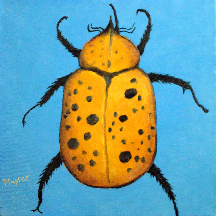Beetles Painting - Beedles - John by Scott Plaster