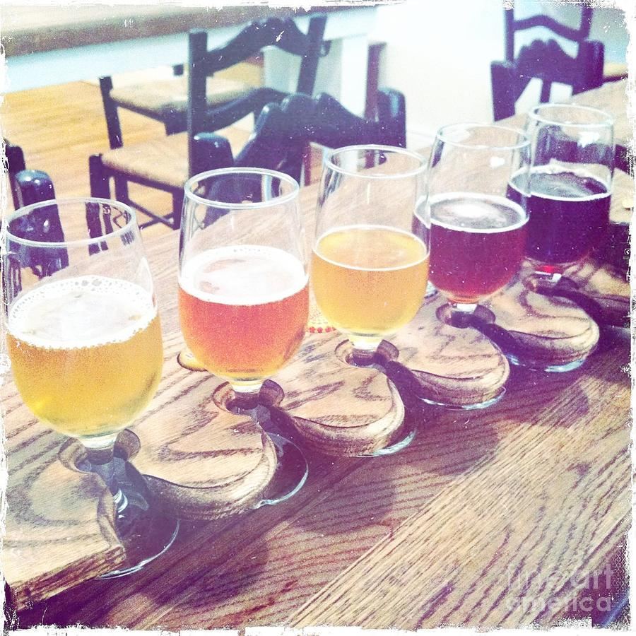 Beer Photograph - Beer Flight by Nina Prommer