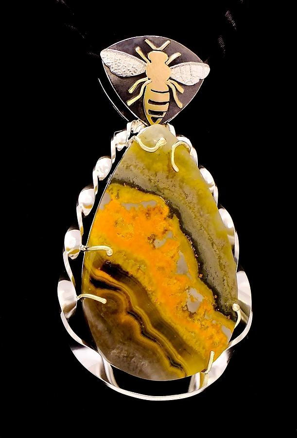 Jewelry Jewelry - Bees Art by Marie-Claire Dole
