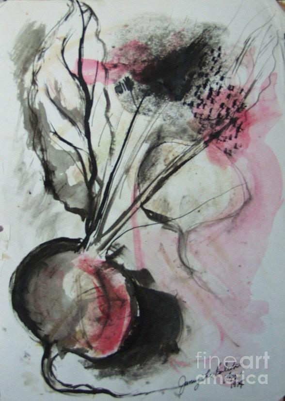 Beets Painting - Beet by Jamey Balester