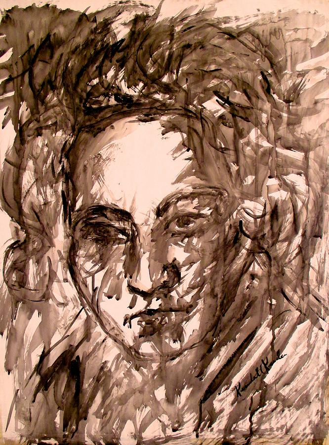Expressionism Painting - Beethoven Energy Stage One by Kendall Kessler