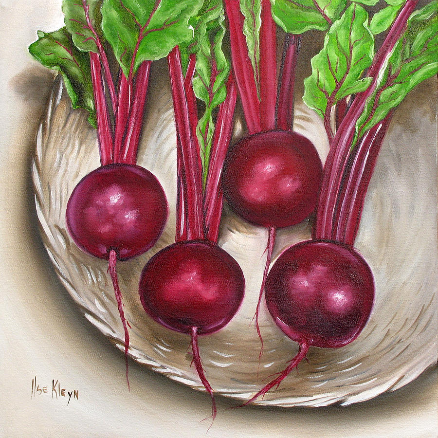 Vegetables Painting - Beetroot by Ilse Kleyn