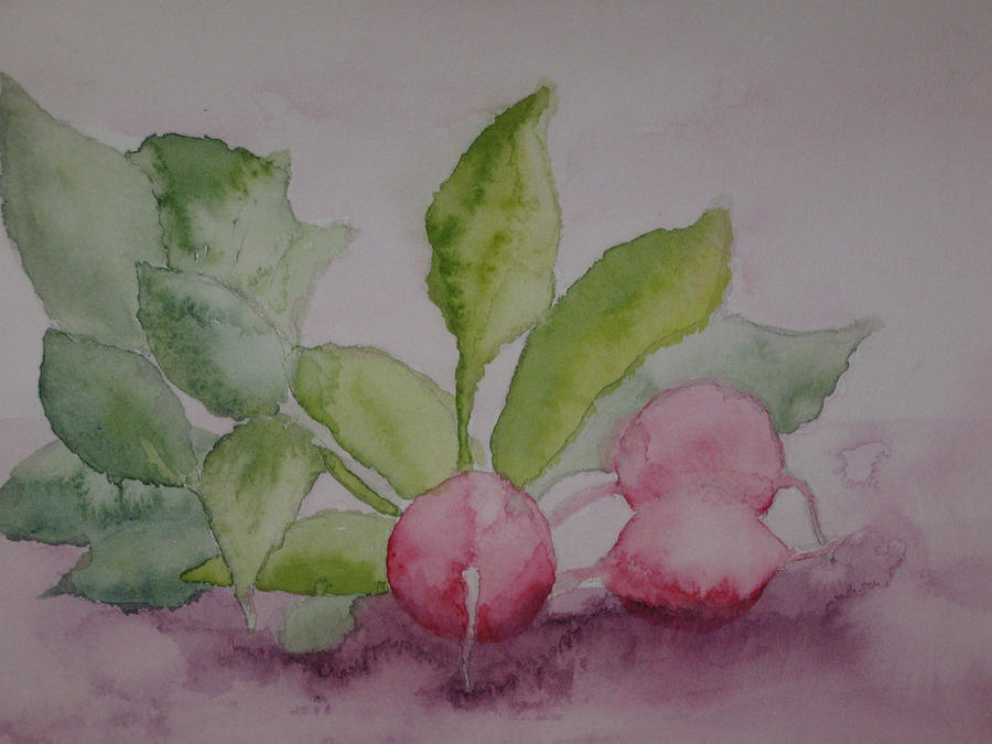 Still Life Painting - Beets by Diana Prout