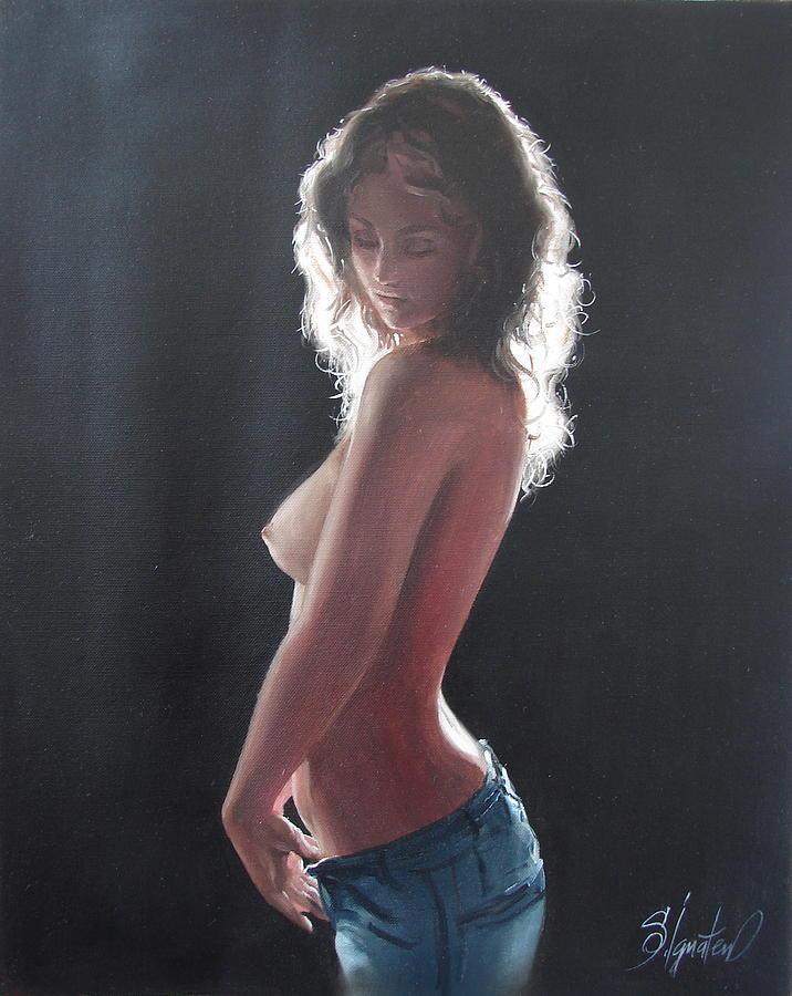 Ignatenko Painting - Before by Sergey Ignatenko