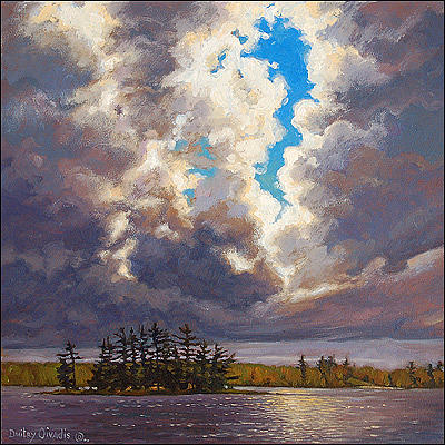 Muskoka Painting - Before Storm by Dmitry Oivadis
