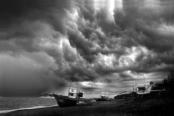 Landscape Photograph - Before The Storm by George Cabig