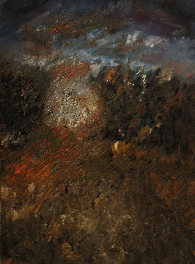 Landscape Painting - Before The Storm by Gyorgy Szilagyi