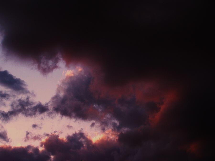 Clouds Photograph - Before The Storm by Joseph Norvell