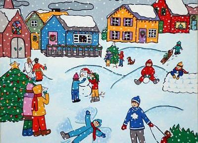 Christmas Painting - Beginning To Look Like Christmas by Trish Laffrenere