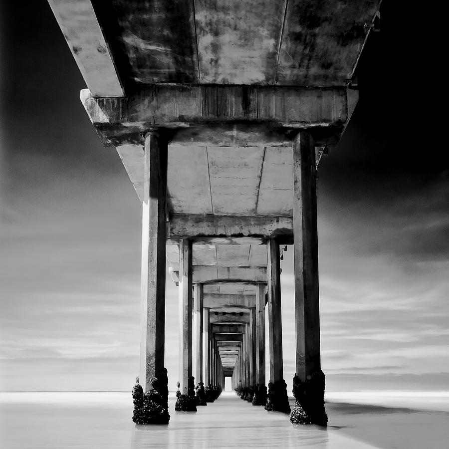 Pier Photograph - Behemoth by Ryan Weddle