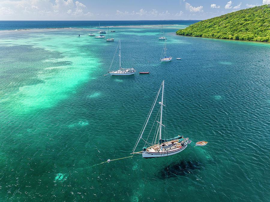 Behind Dakity Reef by Gary Felton