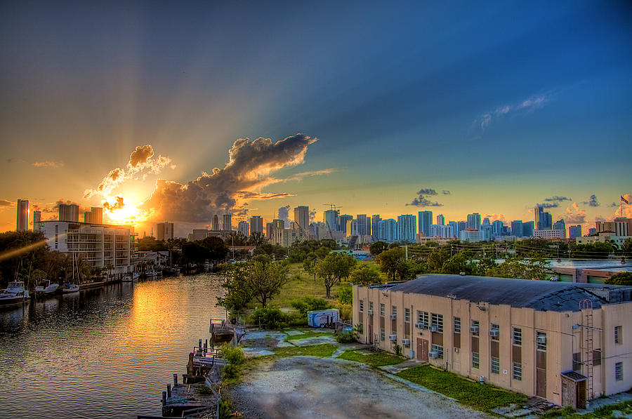 Miami Photograph - Behind Miami by William Wetmore