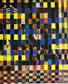 Spiritual Painting - Behind The Cage by Mounir Lakkis