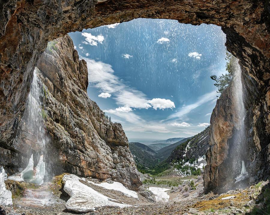 Behind The Falls by Leland D Howard