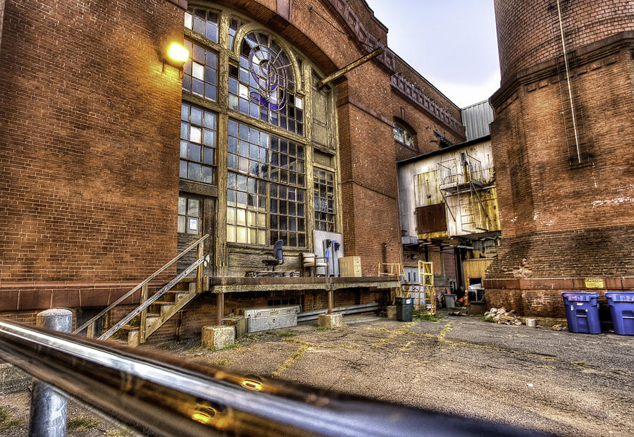 Factory Photograph - Behind the Paper Plant by John Hoey