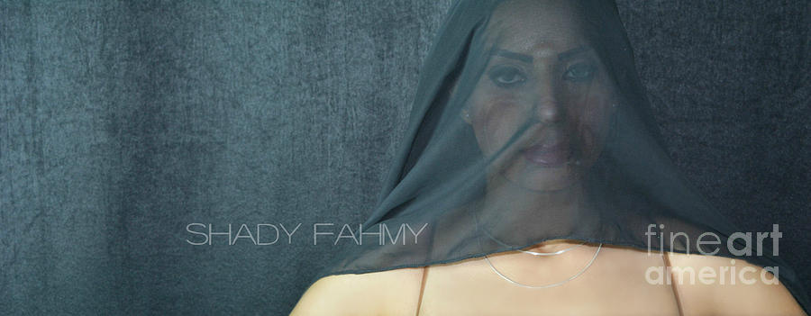 Behind The Scarf Photograph by Shady Fahmy