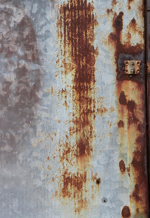 Rust Photograph - Behind the Shop 2 by Russell Owens
