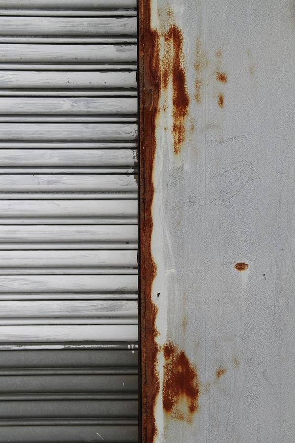 Rust Photograph - Behind the Shop 1 by Russell Owens