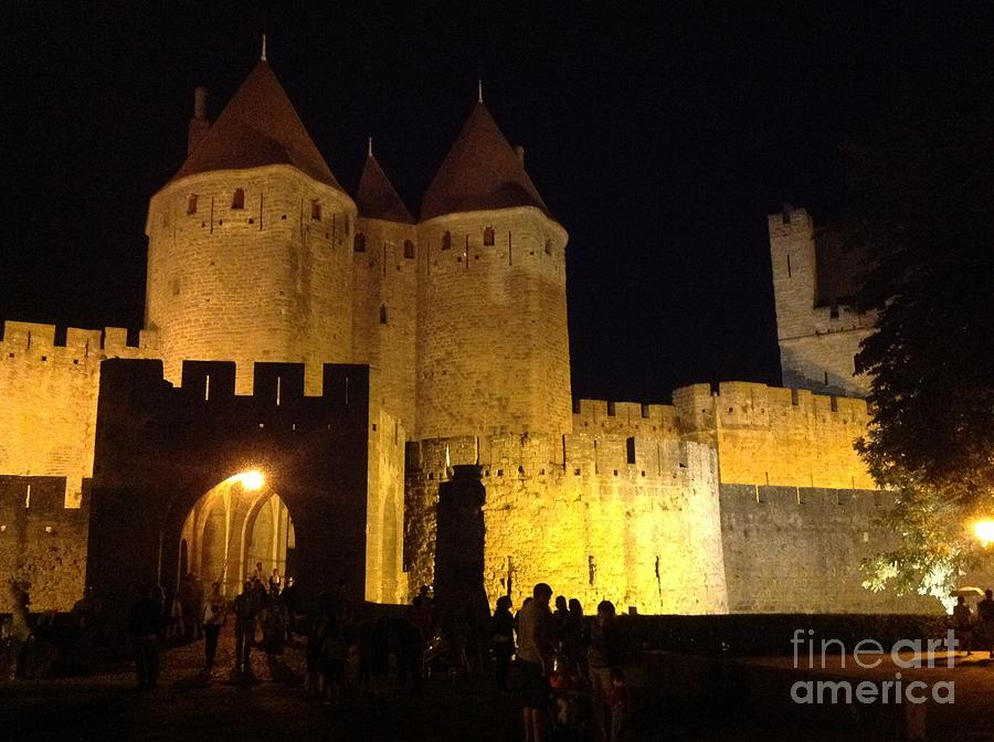 Carcassonne at Night by FRANCE ART