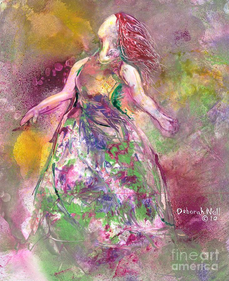 Woman Painting - Behold My Beloved by Deborah Nell