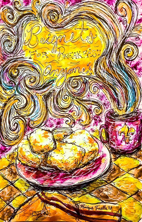 Beignets for Breakfast by Monique Faella