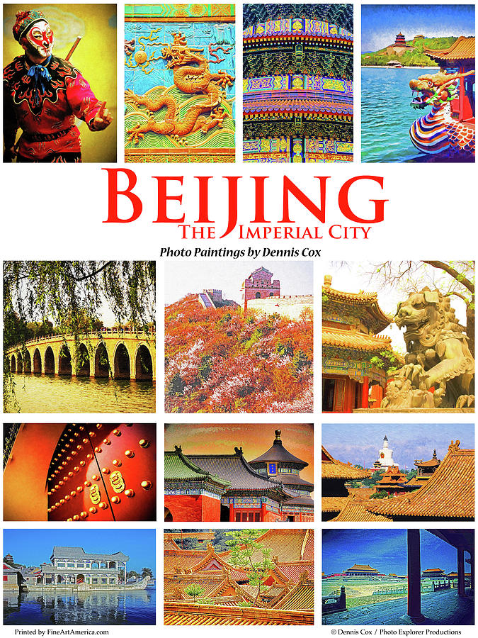 Beijing Poster Photograph