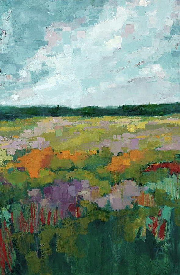 Field Painting - Being Outside by Michele Norris