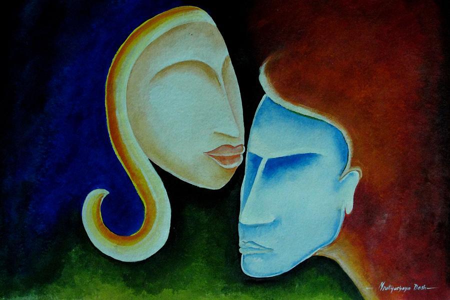 Love Painting - Being Together by Mrutyunjaya Dash