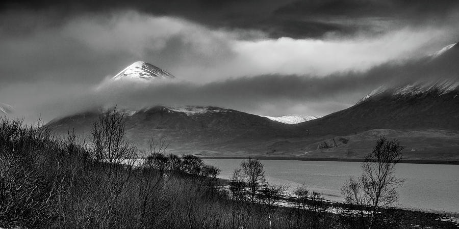 Scotland Photograph - Beinn na Cro and Loch Slapin, Isle of Skye by Peter OReilly