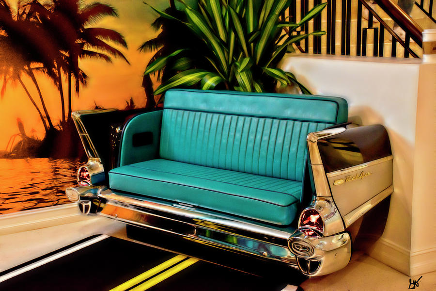 Bel Air Seating at the Hard Rock Cafe Daytona Beach by Gina O'Brien