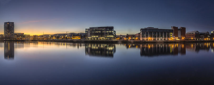 Cityscape Photograph - Belfast Near The Docks by Glen Sumner