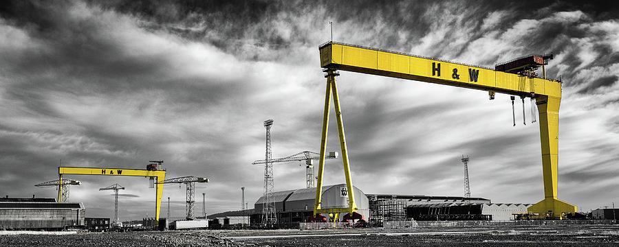 Belfast Shipyard 2 Photograph