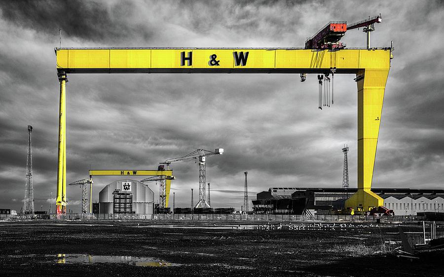 Belfast Shipyard 3 Photograph