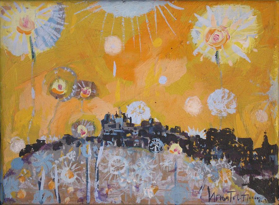Belgrade Painting - Belgrade Is Not Sleeping by Jelena Ignjatovic