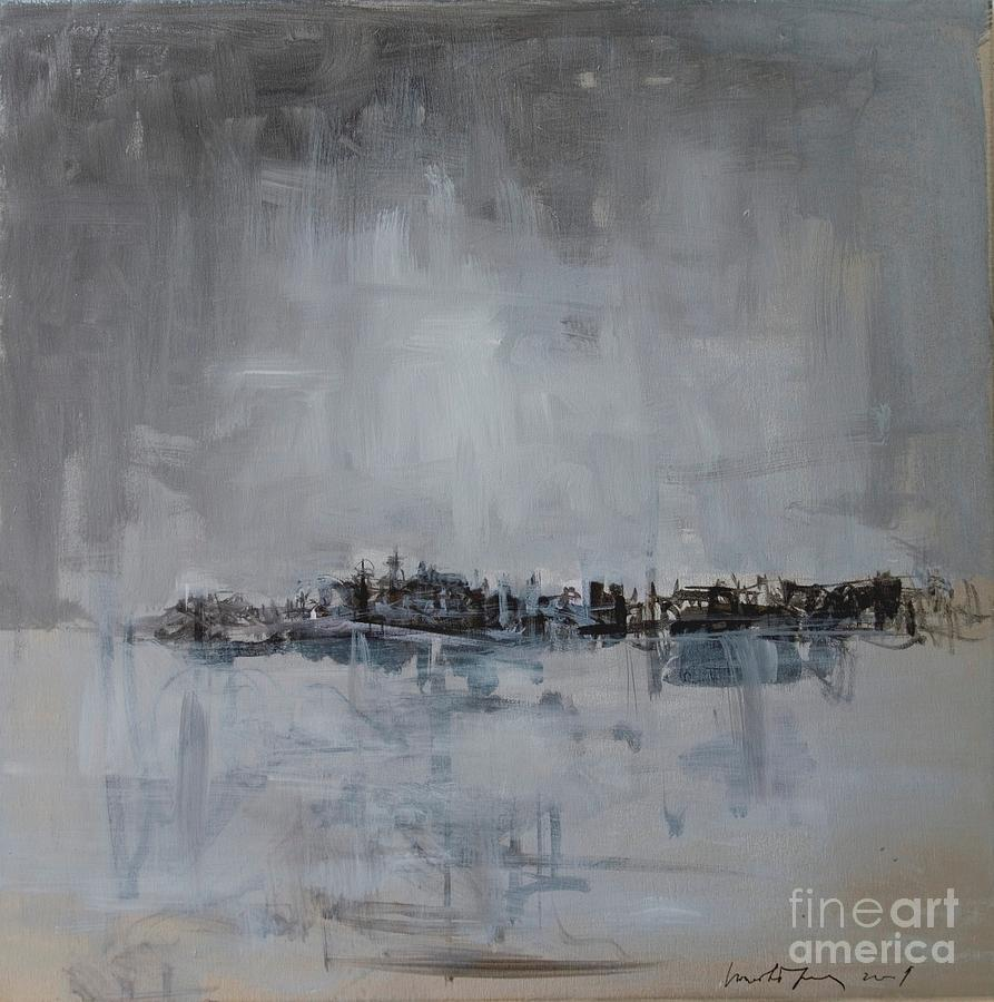 Belgrade Painting - Belgrade Silver Or Grey by Jelena Ignjatovic