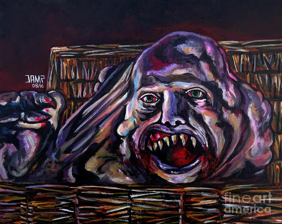 Belial Painting - Belial by Jose Mendez