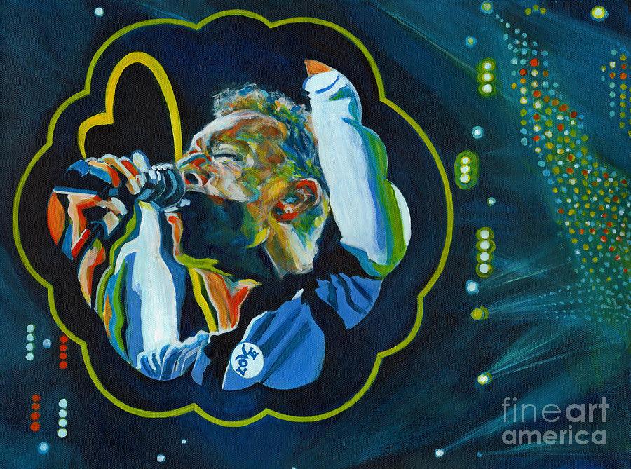 Believe In Love - Chris Martin by Tanya Filichkin