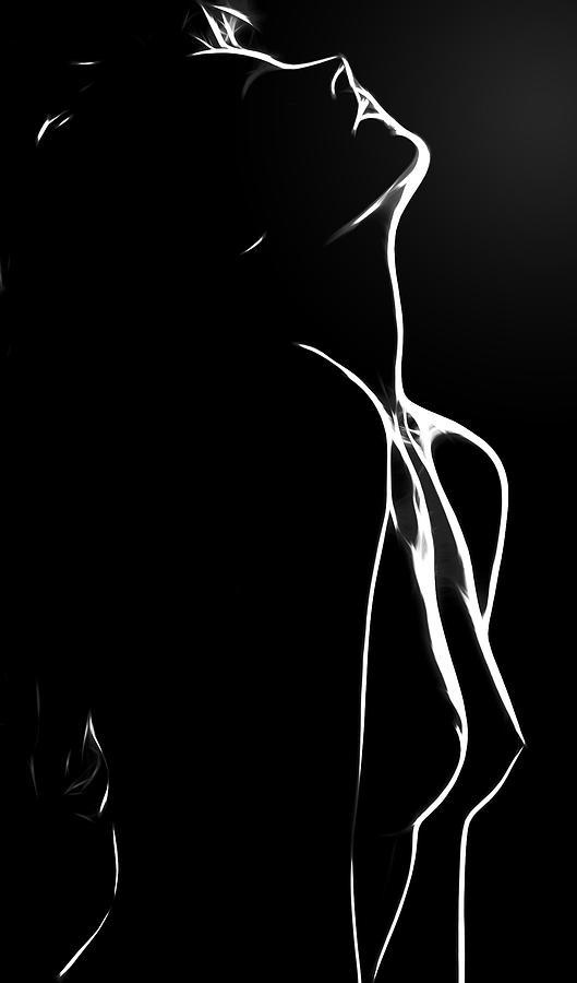 Dark Painting - Believe In Love by Steve K